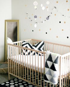 19 inspirational nursery designs using the IKEA Sniglar cot