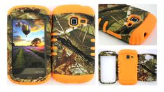 Straight Talk/Net 10 Samsung Galaxy Discover Centura R740 S730G S738C Exclusive Camo Mossy Hunter Series on Pink Gel Cover Case:Amazon:Cell Phones & Accessories