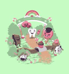 Sweet tooth murder