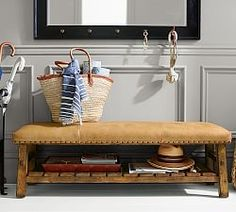 Decorative Benches & Trunks   Pottery Barn