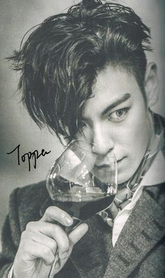 Bigbang | TOP (Choi Seung Hyun) ♡ this is a wee bit scary cuz his eyes are so bugged out
