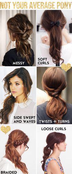 Dif.ponytail