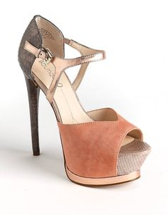 Nerissa Suede Platform Pumps | Lord and Taylor- $139.99