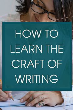 Our culture often tells us that writing is an innate talent. As a writing coach and editor, I know writing is a learned skill. Check out this post on how to learn the craft of writing! | writing advice | write a book | self-publishing |