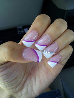 Purple nails :)
