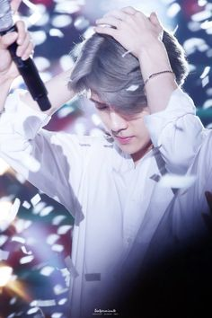 Image result for sehun grey hair