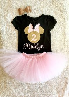Minnie Mouse 2nd Birthday Outfit   Two-dles Birthday   I'm Two-dles – Tutu Cute By Carrie