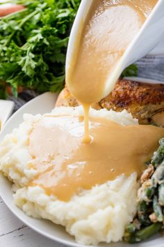 Learn how to make gravy of any kind in this easy to follow guide. We've got you covered whether you are making a gravy from pan drippings or using canned broths or stocks. You'll learn how to make chicken gravy, turkey gravy, beef gravy, gluten-free gravy, chocolate gravy and more.