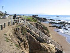 ╔╝ Eldwayen Ocean Park (shell beach) Pismo Beach, San Luis Obispo County, CALIFORNIA ╚╗