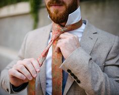Augustus Hare | Autumn Interviews vol. I : Chris Gaul  #menswear #ties #gifts #christmas #christmasgifts #christmasgiftsforhim #giftsforhim #giftsformen #woventies #orangeties #augustushare