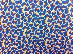 Textile design by Nathalie du Pasquier.  Burundi 1981