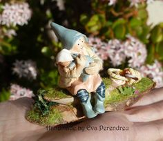 Maternity fairy in miniature by Evamini on Etsy, $29.00