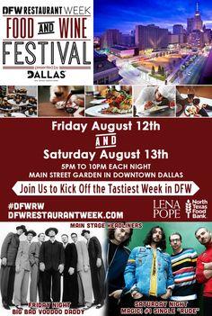 DFW Restaurant Week Food and Wine Festival