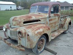 Viewing Auction #221142344370 - 1946 Ford pickup/truck Rat rod hot ...