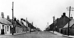 Old photograph of Forth village, South Lanarkshire, Scotland