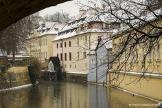 Česko, Praha - Kampa-Velkopřevorský mlýn