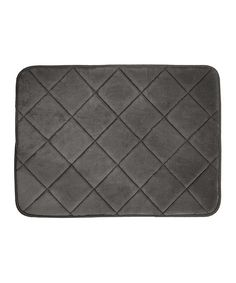 Charcoal Quilted Memory Foam Bath Mat by Northpoint Trading Inc. #zulily #zulilyfinds