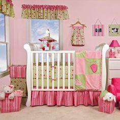 Trend Lab Jucie Fruit 4 Piece Crib Bedding Set