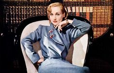 Carole Lombard in an ad for Rogers Bros. Silverplate, 1940