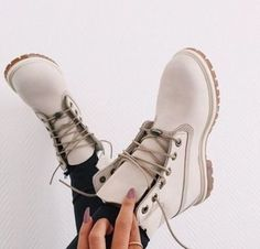 shoes boots white timberlands timberland white boots