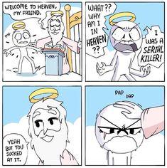 welcome to the OG gay_irl™ 😛 share gay memes. Shen Comics, Owlturd Comics, Life Comics, Funny Comics, Crazy Funny Memes, Really Funny Memes, Stupid Funny Memes, Funny Laugh, Funny Sarcasm