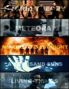 Awesome music by Linkin Park