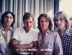 UK band : Allan Holdsworth Bill Bruford John Wetton