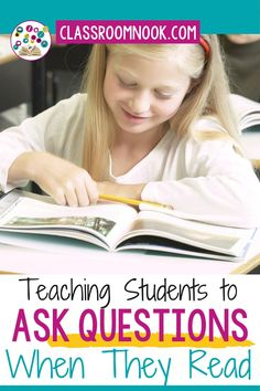 Check out this blog post all about teaching how to ask questions while reading in the upper elementary classroom. Read about how to explicitly teach students to ask questions while reading in 3rd, 4th, and 5th grade. Learn about modeling the reading comprehension strategy, practicing questioning with specific activities, and MORE! After reading, download a FREE asking questions bookmark and get access to a Google Classroom compatible LINKtivity digital learning guide to get started today! Questions To Ask, This Or That Questions, 5th Grade Teachers, Reading Comprehension Strategies, Student Teaching, Google Classroom, Upper Elementary, 5th Grades, Get Started