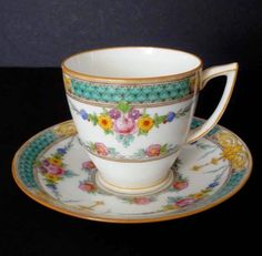 Minton Selwyn  Demitasse Cup and Saucer
