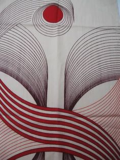 Retro vintage fabric