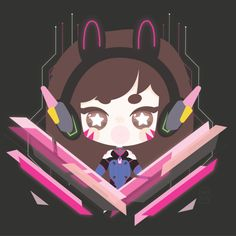 va overwatch by deathxpocky on Overwatch, Overwatch D.va overwatch by deathxpocky on Source by stephcrwrriver D.va overwatch by deathxpocky on Overwatch Drawings, Overwatch Fan Art, Chibi, Bunny Names, Overwatch Wallpapers, T Art, Cs Go, Kawaii Anime, Game Art