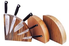 Need a place to put your new cutlery? This Messermeister Magnet Block is the perfect spot! Magnetic Knife Blocks, Knife Storage, Magnets, Bamboo, Projects To Try, Display, Barn Homes, 4 Life, Cutlery