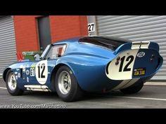 $7.0m Shelby Daytona Cobra Great SOUND! - YouTube