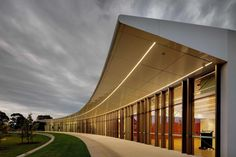 Nunawading Community Hub // fjmtstudio Facade Lighting, Linear Lighting, Architecture Jobs, School Site, Call For Entry, Best Architects, Acre, Backdrops, Community