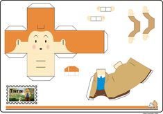 Blog_Paper_Toy_papertoy_Tintin_Cleber_Machado_template_preview