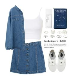 """""""--"""" by queenbrittani ❤ liked on Polyvore featuring Topshop, NARS Cosmetics, Charlotte Russe, Vans and bhalo"""