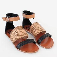 Viera Sandals are as qualified for beach romping as they are for shopping downtown.