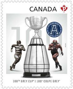 Grey Cup Champions stamp featuring the Argos @ thestar.com