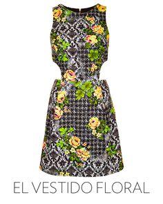 primavera en blanco y negro con el look de constance jablonski vestido con cortes asimtricos y