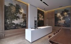 Kitchen and Dining Room in Herensgracht by Miyo Studio 02