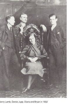 Bryan & Diana Guinness with their sons, Jonathan & Desmond