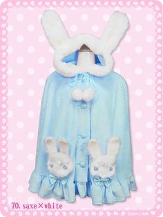 Fluffy Cat & Rabbit Tea Party Cape / See more at http://www.cdjapan.co.jp/products?term.shop=apparel&term.brand_id=100000108&opt.is_group_default=1&order=new
