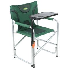 Westfield Outdoors Easy Fold Directors Chair With Side Table