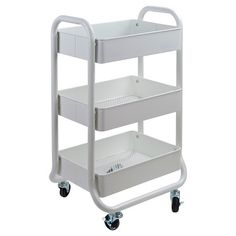 I wonder how this compares to the size of the Ikea one. Storage Cart - White - Room Essentials™ : Target