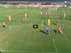 Trening taktyczny - koordynacja pressingu wysokiego • Trening w wykonaniu Jorge Sampaoli na przykładzie reprezentacji Chile • Zobacz #pilkanozna #futbol #sport #taktyka #chile #sampaoli #trening #pressing