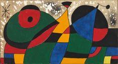 Joan Miró - Maqueta del Tapiz del World Trade Center, 1974.