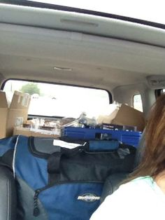 Road trip to Lori Foster's Reader Author Get Together 2013. Loaded up with Entangled reader giveaways.