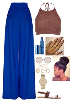 """Untitled #334"" by nun-for-free ❤ liked on Polyvore featuring River Island, Lipstick Queen, Quay and MICHAEL Michael Kors"