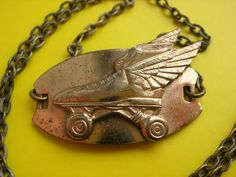 Roller Derby Necklace from @owlidayinn for $40.00