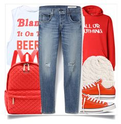 """""""School Style [Red]"""" by madeinmalaysia ❤ liked on Polyvore"""